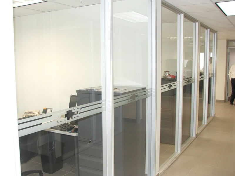 Interior Window Frosting for Safety and Design