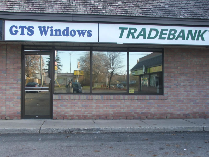 Window Film for Solar Protection at a local business